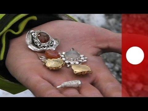Un alpinista descubre un tesoro en las faldas del Mont Blanc