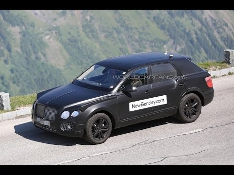 Bentley SUV Spied For First Time
