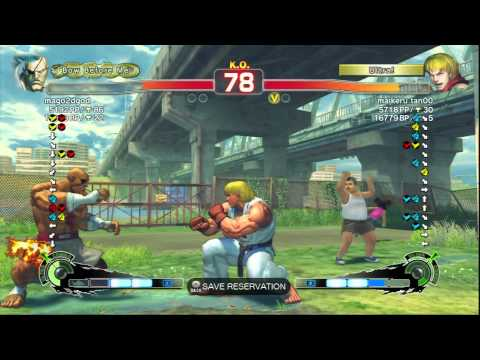 SSF4AE Mago2dgod x Tokido Ranked Matches On XBL HD
