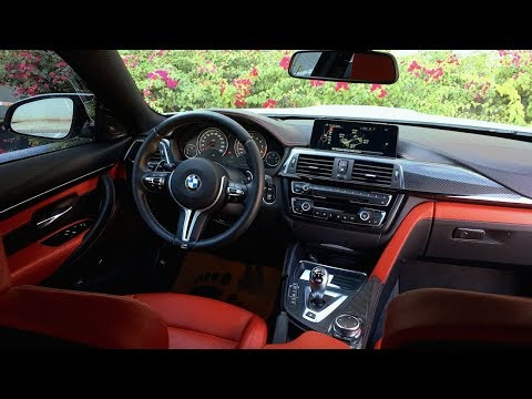 BMW M4 Detailed Interior Review