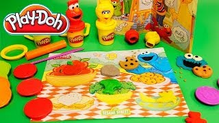 Play Doh Sesame Street Fun Shapes Bucket Toys Review