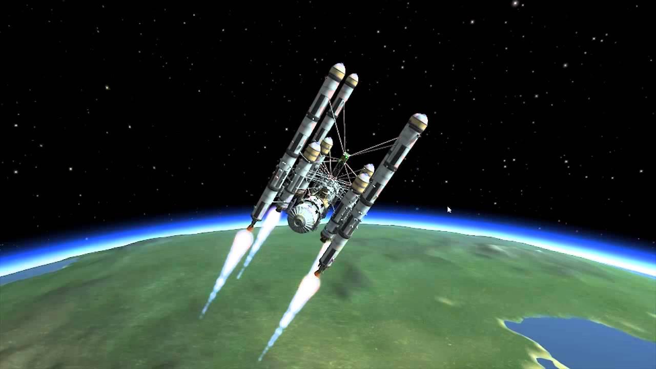 Kerbal Space Program Moon Base - Pics about space