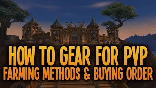 Warlords Of Draenor How To Gear For PvP: Farming Methods