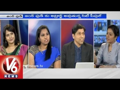 How Does Junk Food Effect Health - KVS Subramanyam, Dr. Sujatha, Sangeetha - 7 Pm Discussion