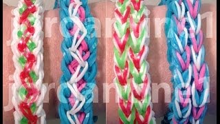 New Unity Bracelet Reversible Rainbow Loom