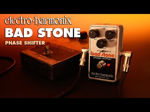 Electro Harmonix Bad Stone Analog Phase Shifter Effects Pedal