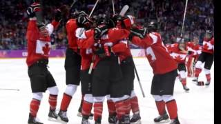 Canadian Olympic Hockey Team 2014 Gold-Medal Win In Sochi