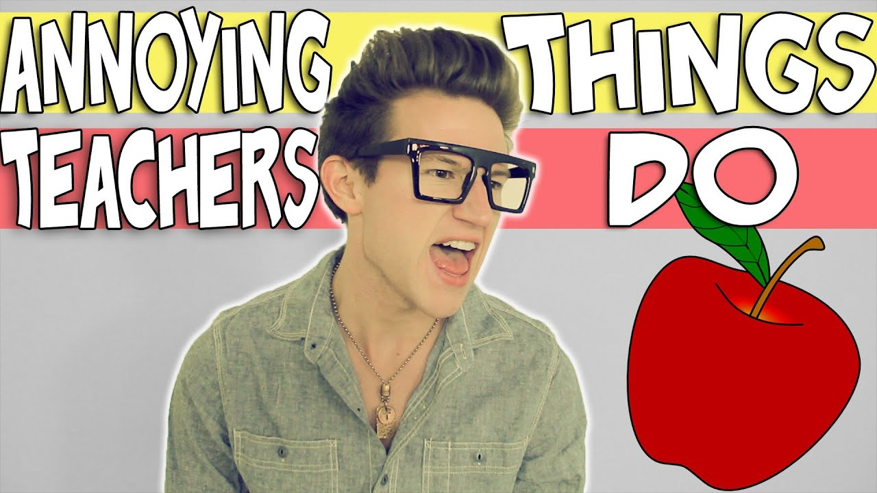 ANNOYING THINGS TEACHERS DO | RICKY DILLON - YouTube