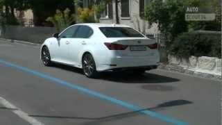 2013 Lexus GS 450h Test Drive & Luxury Hybrid Car Video Review videos