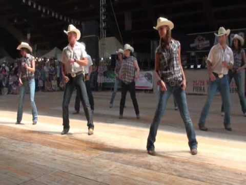 west party line dance wild country voghera country festival 2010 youtube. Black Bedroom Furniture Sets. Home Design Ideas