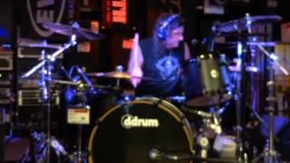 "Vinny Appice Drum Clinic - ""The M0b Rule$"" - Guitar Center - Bakersfield, CA 8-21-13"