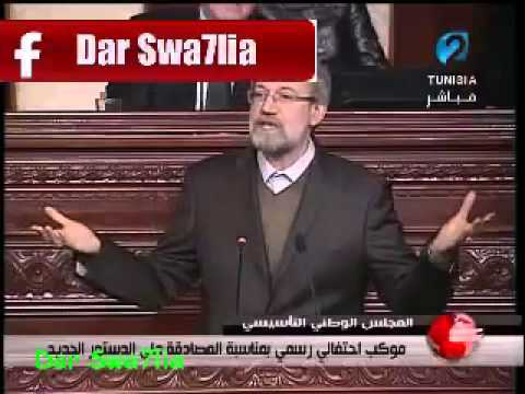 Ali Larijani speech about the USA and israel in Tunisia