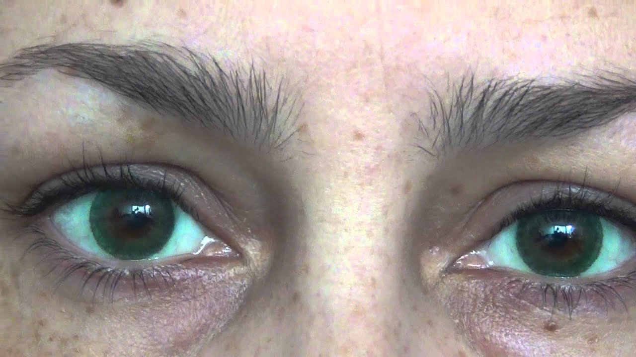 Freshlook Dimensions Sea Green >> freshlook dimensions sea green JoLens Review Very High Definition sunlight - YouTube