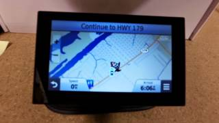 Garmin Nuvi 2589LMT First Look