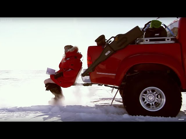 Polar Bears, Toilets & Jesus - Arctic Race Pt.1 - Top Gear Polar Special Now in HD - BBC