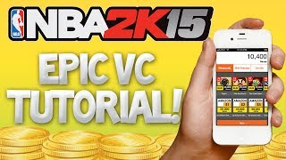 NBA 2K15 How To Get FREE VC, Fast And Easy Tutorial!