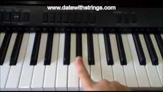 Tum Hi Ho  'Aashiqui 2' Basic Piano Tutorial  !!