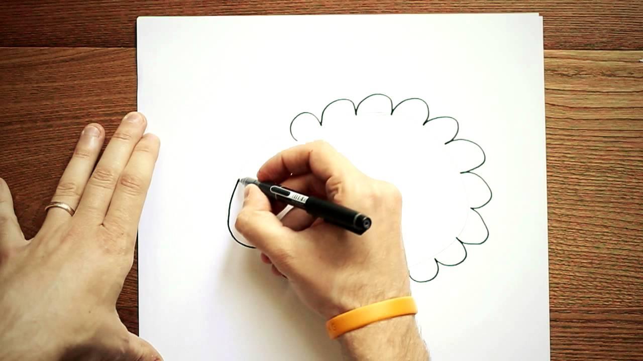 Disegni per bambini disegnare una pecorella youtube for Disegni di animali per bambini
