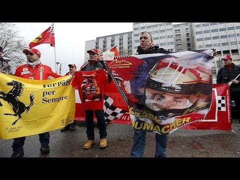 Schumacher cumple 45 años luchando por su vida