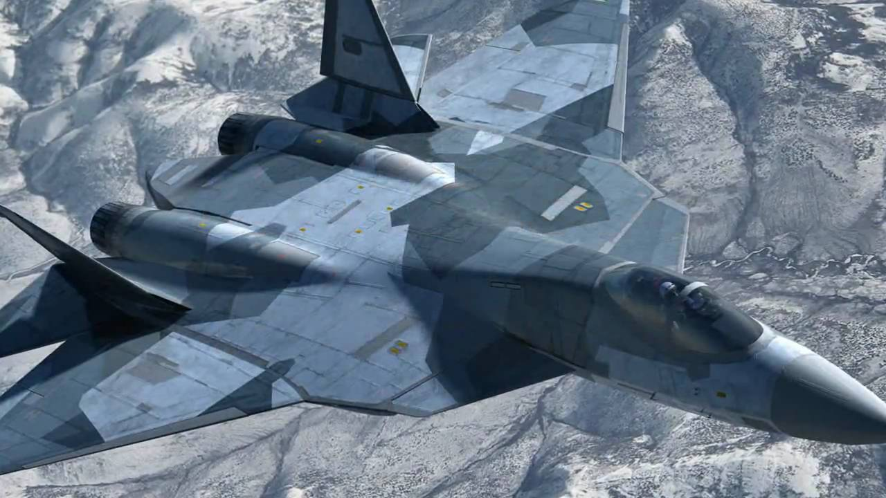 ... Stealth Fighter - Sukhoi T-50 PAK FA - HD - High Definition Trailer