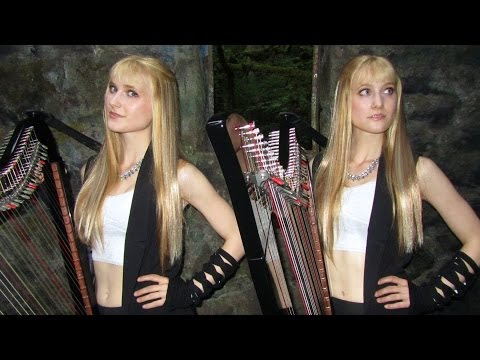 SWEET DREAMS - Eurythmics/Marilyn Manson (Harp Twins electric) Camille and Kennerly