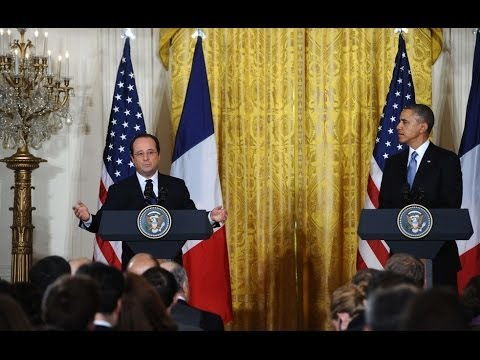 Obama, Hollande attend state dinner