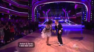 Amber Riley and Derek Hough   Charleston   Dancing with the Stars   Season 17   Week 3