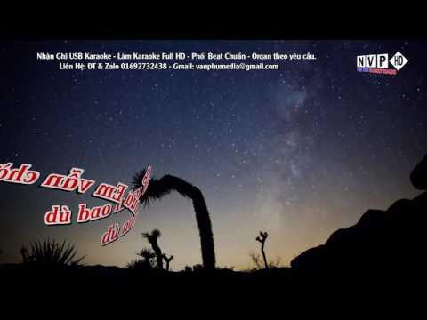 [Karaoke] Đêm Nay Anh Ở Đâu - Trần Hồng Nhung (Phối Chuẩn)