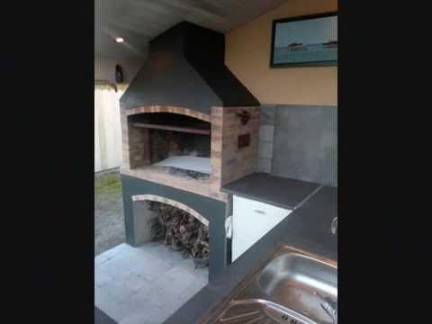 fabrication d un barbecue tourne broche l ctrique. Black Bedroom Furniture Sets. Home Design Ideas