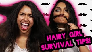 How To Survive Being A Hairy Girl   Michelle Khare feat. Deepica Mutyala