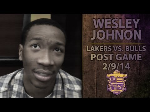 Lakers Vs. Bulls: Wesley Johnson On Team Being Banged Up, Talks Chris Kaman's Play