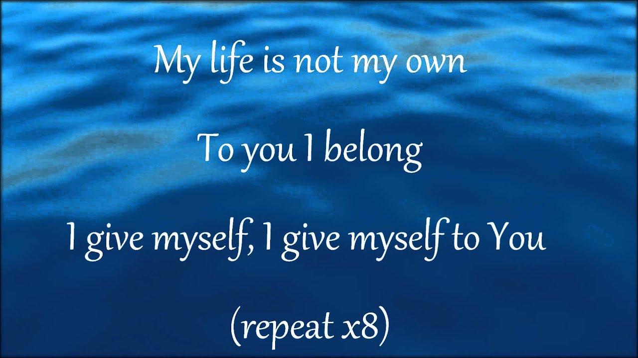 William mcdowell you are god alone lyrics metrolyrics