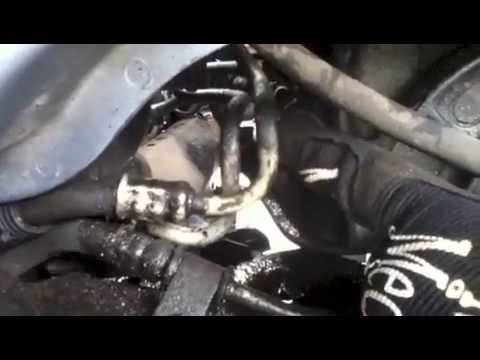 How To Replace Or Repair The Transmission Cooler Line On A