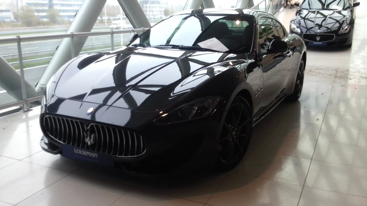 Maserati granturismo sport 2015 in depth review interior for Maserati granturismo s interieur