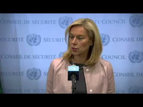 Sigrid Kaag (Joint OPCW-UN Mission) on Syria - Security Council Media Stakeout