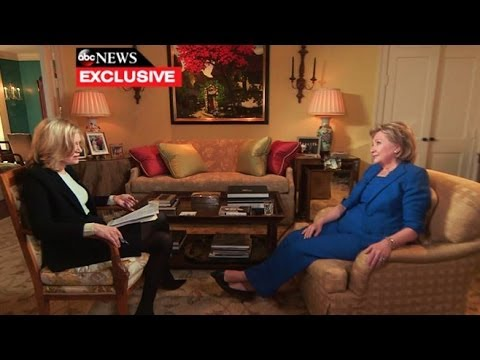Hillary Clinton's Exclusive One-on-One With Diane Sawyer