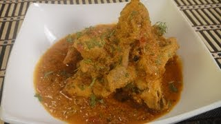 Punjabi Chicken Curry ..