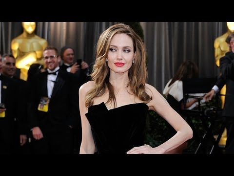 Angelina Jolie's Sexiest Black Dresses of All Time | Fashion Flash