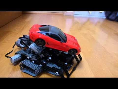 Lego Technic Incline Car Ferrari 599GTO Red 13