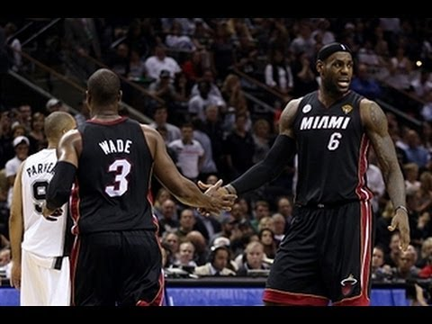 Miami's Big 3 Deliver in Game 4