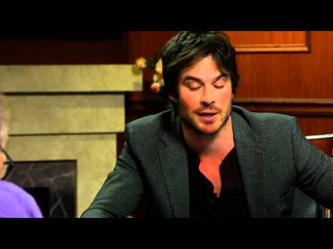 I'm Naked A Lot | Ian Somerhalder Interview | Larry King Now Ora TV