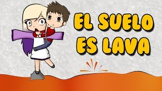 EL SUELO ES LAVA   ROBLOX THE FLOOR IS LAVA en español