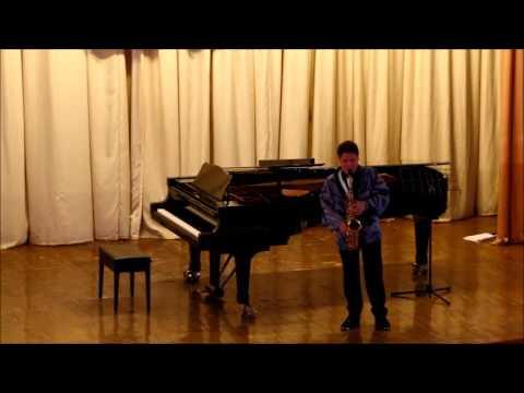 GOLDEN SAXOPHONE 2015 Kenta Igarashi – R.Noda ,Imorivusation