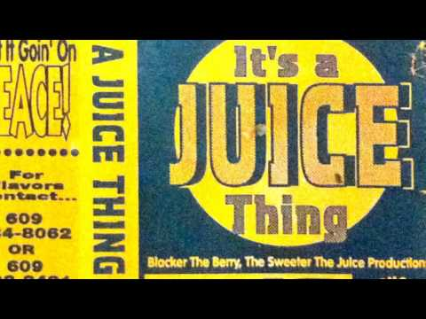 Dj Juice - Vol 10 - It's Juice Thing Rare Mixtape Cassette