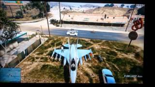 [Glitch] GTA5 Comment Avoir Un Avion De Chasse (P-996