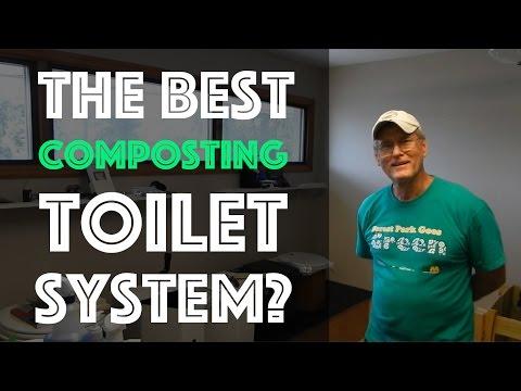 Best Composting Toilet System I've Seen Yet