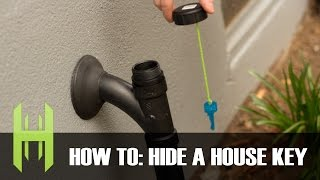 How to Hide a House Key and Never Get Locked Out Again!