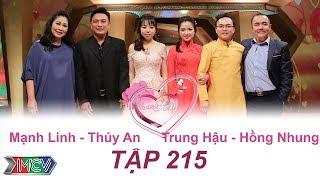 VỢ CHỒNG SON   Tập 215 FULL   Mạnh Linh - Thúy An   Trung Hậu - Hồng Nhung   011017💑