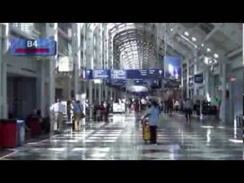A Tour of Chicago O'Hare International Airport's Terminals 1, 2, and 3, August and September 2013