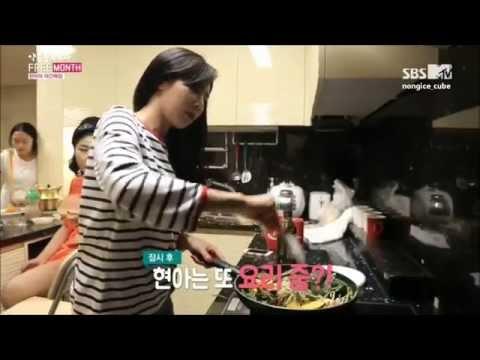 [HD] 140728 HyunA - Free 'EAT' EP2